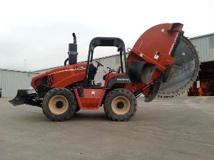 RT115 with H910 trencher attachment